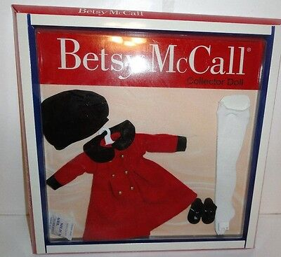 """Betsy Mccall Collector Doll Outfit Nip Big City Shopping Coat For 14"""" Doll"""