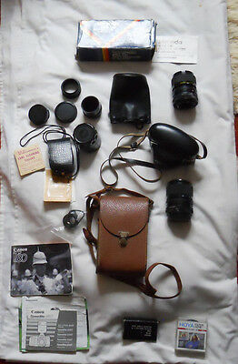 Job Lot Of Cameras,lens And Accessories