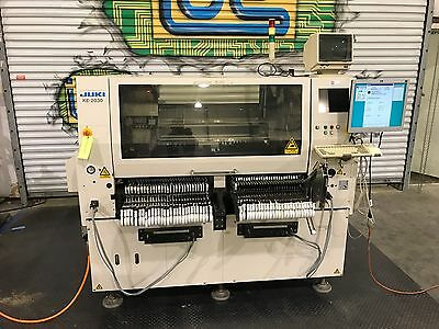 Juki KE-2030 SMT Pick and Place Placement Machine With 95+ Feeders