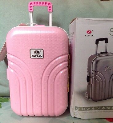 Suitcase Pink Design Money Box / Piggy Bank / Holiday Fund, Suitcase Holiday
