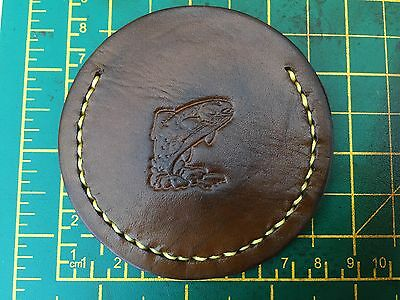 Fishing Mini Leather  Collector Coin Bag Storage