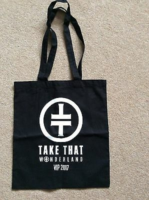 """take That"" Wonderland Tour Vip 2017 - Tote Bag - Concert"