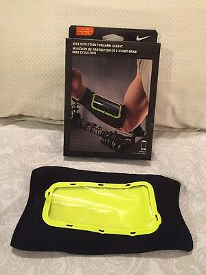 Nike Evolution Forearm Sleeve Men's L/XL iPhone 6 Retail $40 NIB Black