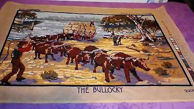 """""""the Bullocky"""" Completed Tapestry"""