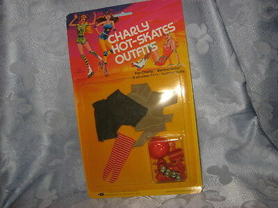 vintage Barbie doll outfit, Charly Hot-Skates Outfits, NIP, 1980, roller blades