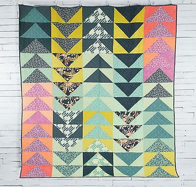 Geese On The Prairie Quilt Kit by One Canoe Two featuring Moda INCLUDES BACKING