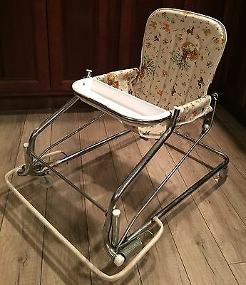Vintage Peterson/Cosco Baby Walker/Jumper/Bouncer/Feeding Chair *Rare Find*!