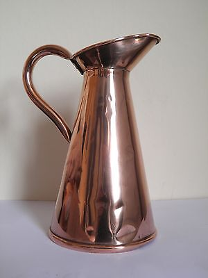 Antique Copper Jug or Pitcher Arts and Crafts Joseph Sankey