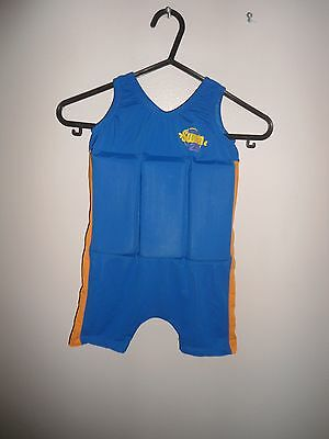 Boys Learn To Swim Uv Protection Sun Safe Float Swim Suit Age 2-3 Years