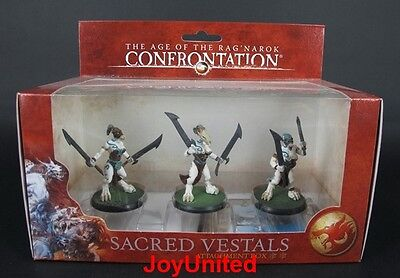 RACKHAM CONFRONTATION Wolfen Yllia Sacred Vestals Attachment Game Figure WFEL05