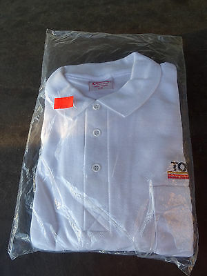 Mint Factory Sealed 1984 Team Toyota Toyotaline Racing Golf Shirt Mens Large