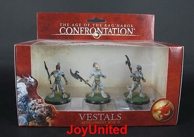 RACKHAM CONFRONTATION Wolfen of Yllia Vestals Attachment Box Game Figure WFRE05