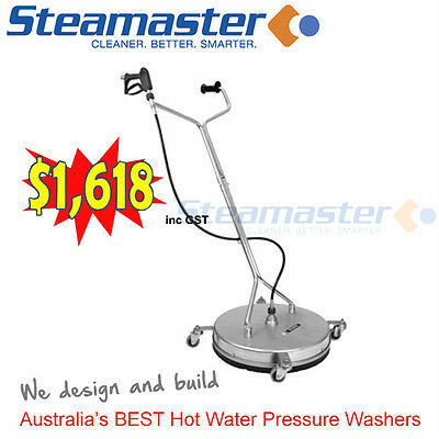 "Mosmatic Whirlaway Whirl A Way Flat/Rotary Surface Cleaner 21"" pressure cleaner"