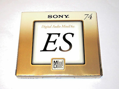SONY ES MD-74 5 Pack Japan'1999 (new and sealed)