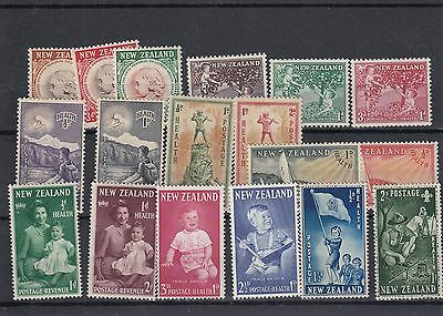 New Zealand 8 MNH sets of Health Stamps.