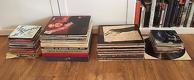 Collection of Records: LPs, EPs, Singles: Pop, Rock, Disco, RnB, Classical