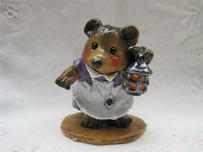 Wee Forest Folk Just a Peek Witch Bear - Limited Edition Store Special - WFF Box