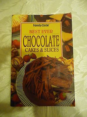 FAMILY CIRCLE mini cookbook Best Ever Chocolate Cakes and Slices EUC