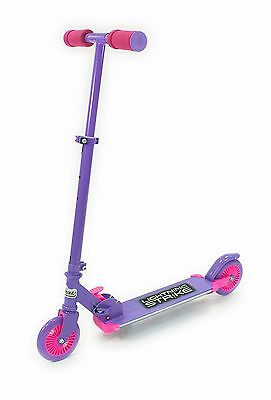OZBOZZ - Lightning Strike Scooter Purple and Pink Motion Activated Lights - New