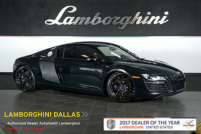 2009 Audi R8 Base Coupe 2-Door CARBON FIBER+R-TRONIC+NAVIGATION+PWR HEATED SEATS+BANG & OLUFSEN+REAR VIEW CAM
