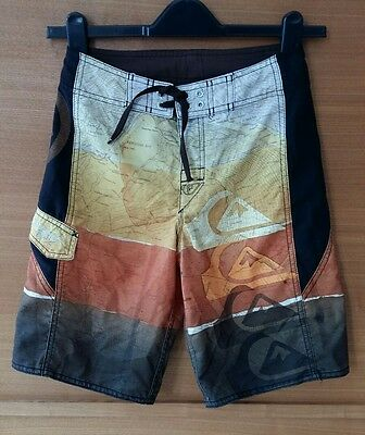 Quicksilver Swim Board Shorts Boys Youth size 10 Years