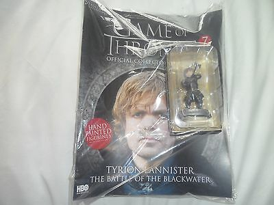 Tyrion Lannister  Game Of Thrones figure and magazine  Brand New  Eaglemoss