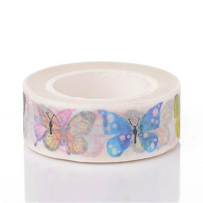 Pretty Butterfly Tape  15mm by 10 metres  Washi Masking Style Tape
