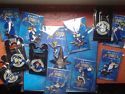 lot pins disney de l'event + Peter Pan gaway disneyland paris 25éme