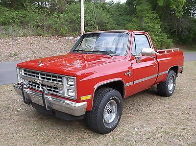 1985 Chevrolet Silverado 1500 SILVERADO 1985 Chevrolet Silverado 1500 4x4 Nice Solid Southern Truck 1 Owner