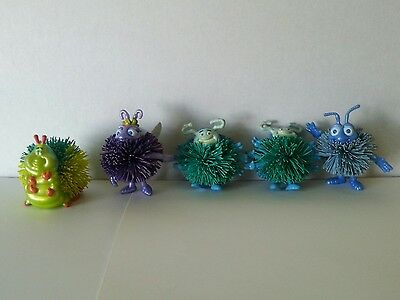 Lot of 5 Mini Koosh Ball Disney Pixar A BUG'S LIFE - 1998