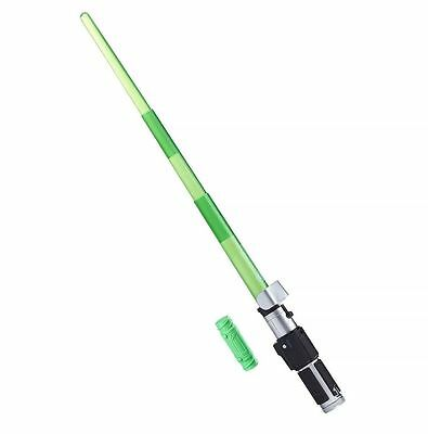 NEW IN BOX! Star Wars: Episode II Bladebuilders Electronic Lightsaber - YODA
