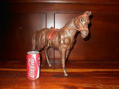 Large Vintage Leather Horse # 1