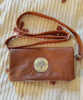 Mulberry Clutch Bag brown used