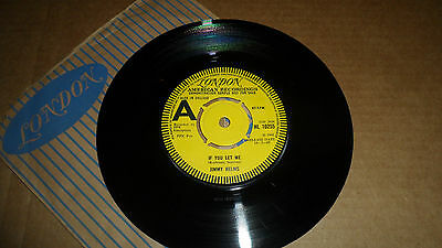 Jimmy Helms 'if You Let Me' Hl 10255 London American Recordings 1969 Uk Promo
