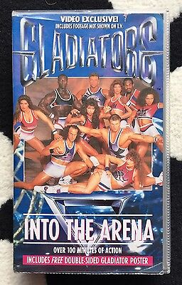 Gladiators - Into The Arena Vintage VHS Video 1992 Rare
