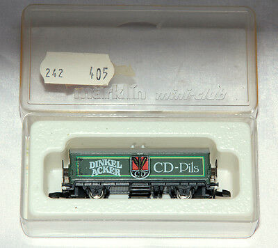 Train Wagon Marklin Mini-Club Modele N°8611