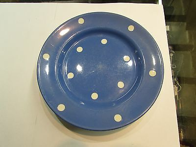 "4 T.G.Green Blue Domino Pattern 8 "" plates"