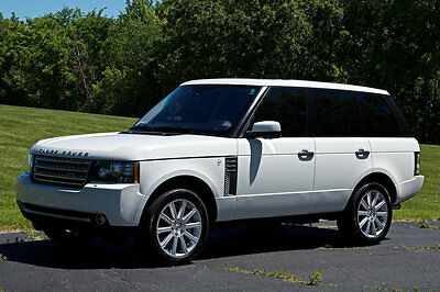 2010 Land Rover Range Rover 4WD 4dr SC 2010 LAND ROVER RANGE ROVER SUPERCHARGED