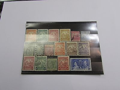 Selection of early Barbados stamps