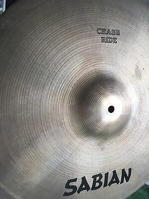 "SABIAN AA 18"" Crash Ride - Vintage 1980's"