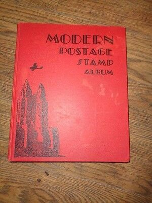 Postage Stamp Album - Vintage book with stamps