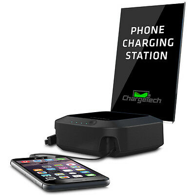 ChargeTech Battery Powered Charging Hub for Multiple Devices