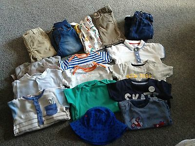 Boys 6-9 And 9-12 Month Mixed Bundle Some New With Tags