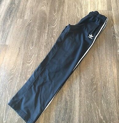 ADIDAS THE BRAND WITH THE 3 STRIPES ORIGIONAL Black sweatpants bottoms