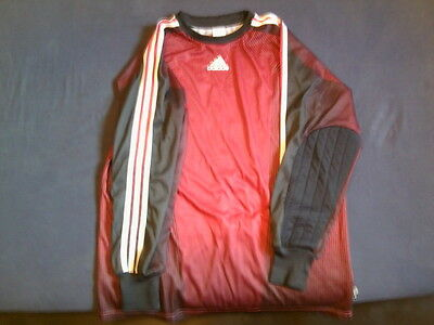 T SHIRT ADIDAS  GARDIEN BUT  GOAL  CLIMALITE  taille  L   TBE