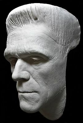 life size bust frankenstein boris karloff life face cast bride of frankenstein.
