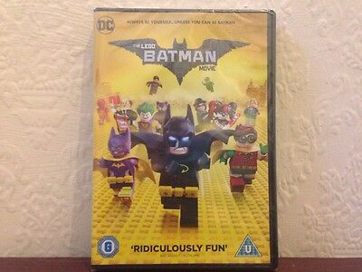 the lego batman movie dvd region 2 new and sealed
