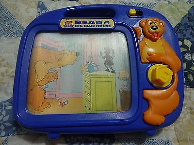 """Vintage RARE Jim Hensons """"BEAR In The BIG BLUE HOUSE"""" Wind-Up Musical Toy (EUC)"""