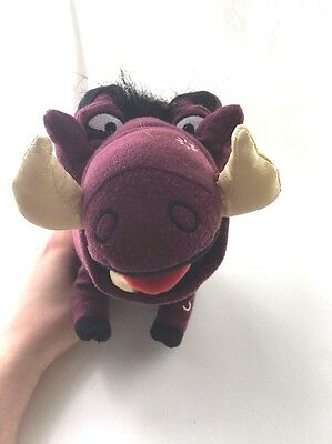 Pumbaa Official Disney The Lion King Plush Soft Toy Stuffed Animal Broadway