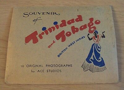 "1930's SOUVENIR Photo/Mailer~""TRINIDAD and TOBAGO""~British West Indies~"